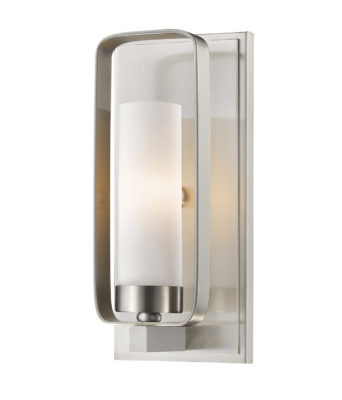 Wall Sconce Lighting Transitional AIDEEN Z-Lite 6000-1S-BN