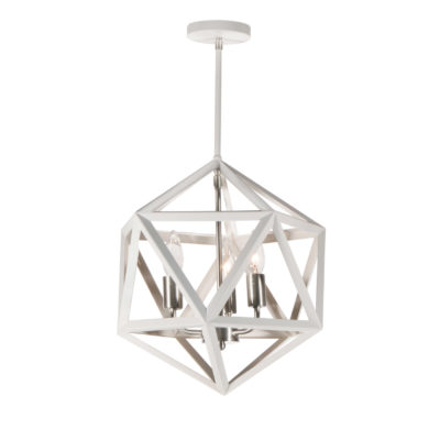 Pendant Lighting Transitional ARCHELLO Dainolite ARC-143C-WH-SC