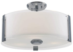 Flush Mount Lighting Contemporary ZURICH Dvi DVP14511SN-SS-OP