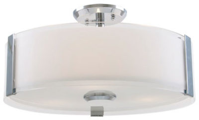 Flush Mount Lighting Contemporary ZURICH Dvi DVP14512SN-SS-OP