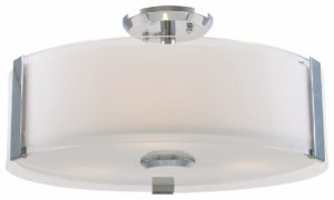 Flush Mount Lighting Contemporary ZURICH Dvi DVP14594CH-SS-OP