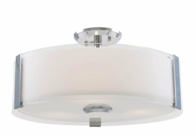 Flush Mount Lighting Contemporary ZURICH Dvi DVP14596SN-SS-OP