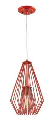 Pendant Lighting Transitional Modern QUINTUS Z-Lite 442MP-RD