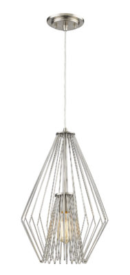Pendant Lighting Transitional Modern QUINTUS Z-Lite 442MP12-BN