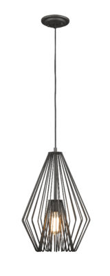 Pendant Lighting Transitional Modern QUINTUS Z-Lite 442MP12-BRZ