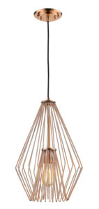 Pendant Lighting Transitional Modern QUINTUS Z-Lite 442MP12-CR