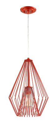 Pendant Lighting Transitional Modern QUINTUS Z-Lite 442MP12-RD