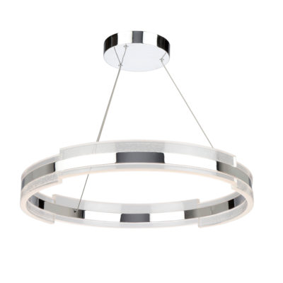 Pendant Lighting Modern SATURN Artcraft AC7472CH