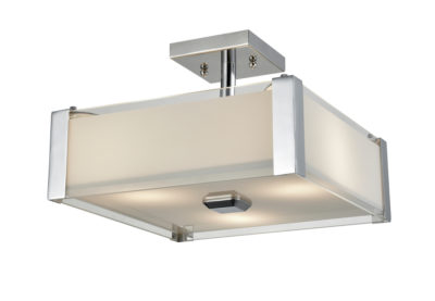 Flush Mount Lighting Modern Dvi DVP10311SN-SSOP
